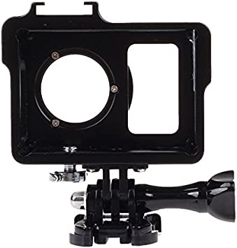 CAOMING Housing Shell Metal Protective Cage with Basic Mount Screw Color : Black UV Lens Filter for Xiaoyi Durable