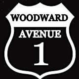 Woodward Ave Route 1 Woodward Window Decal