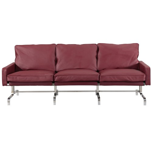 M339 Sofa in Brown Leather