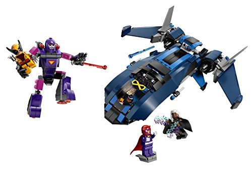 LEGO Superheroes X-Men vs The Sentinel Building Block (336Pcs) Figures Toys