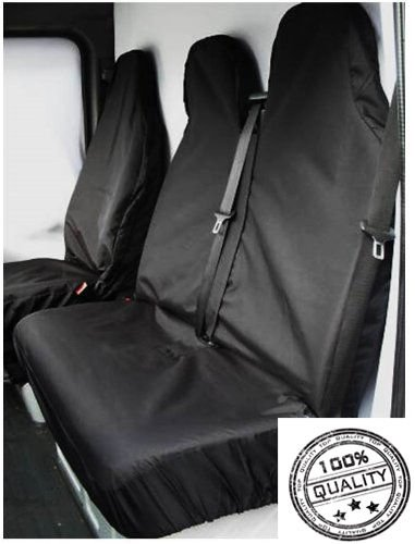 LDV Maxus LWB High Roof HEAVY DUTY GREY WATERPROOF VAN SEAT COVERS 2+1