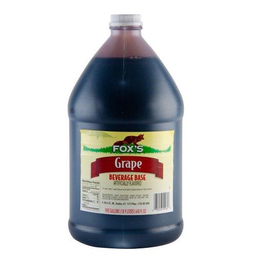 FOX'S Grape Slush Syrup (Soda Stream Syrup Grape compare prices)
