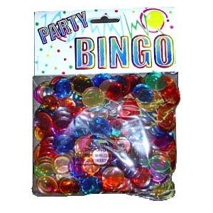 300 Plastic Bingo Chips - Jordan Store Factory