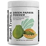 Royal Tropics Digestive Enzyme Powder - Digestion & Weight Control Supplement | Made from 100% Pure Green Papaya Enzyme with Papain - Natural Breakdown of Lipids & Proteins for Faster Absorption 350g