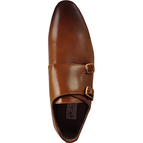 KLEIN and Lining BRAVO Loafer Leather with Dress Buckles Tan Fashion Shoe Tan Men 5 CCqtxn4