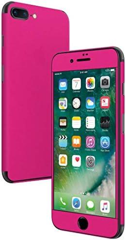 igsticker iPhone SE 2020 iPhone8 iPhone7 専用 スキンシール 全面スキンシール フル 背面 側面 正面 液晶 ステッカー 保護シール 008956 その他 シンプル 無地 ピンク