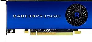 HP Graphics Card - Radeon Pro WX 3200-4 GB GDDR5 - PCIe 3.0 X16 Low Profile - 4 X Mini DisplayPort - Promo