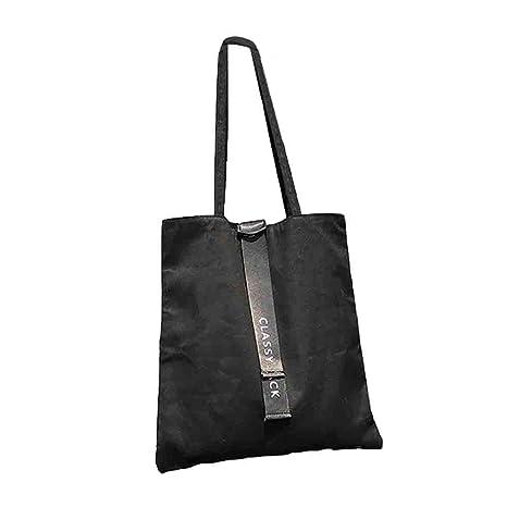 Canvas Tote Bag Black Print Design ASAPS (Classy Black)  Amazon.ca  Home    Kitchen b5b160eaeace1
