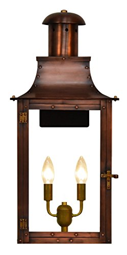 The CopperSmith Somerset 20″ 2 Lite Electric lantern SO20-Elec