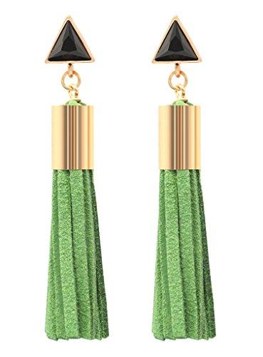 KristLand Fashion Elegant Triangle Earrings