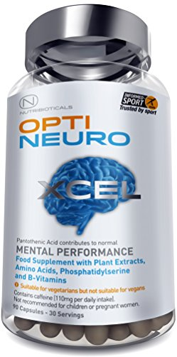 NEW Optineuro Xcel for Mental Performance | #1 Top Rated Nootropics |...