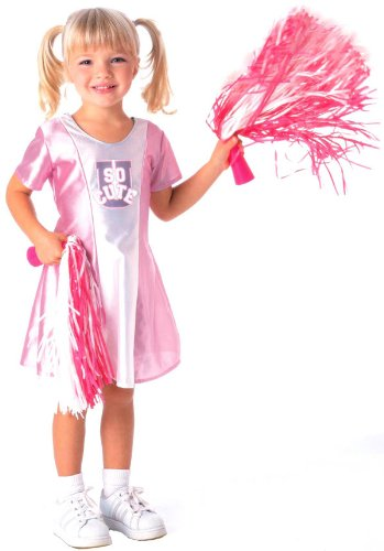 [Cheerleader Costume - Toddler] (Cheerleader Outfit For Sale)