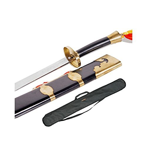 Tiger Claw Stainless Kung Fu Broadsword (24 Inches)