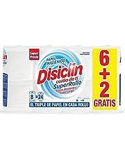Disiclin Toiletpapier, compact, 2-laags, 8 rollen