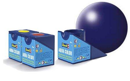 revell-lufthansa-blue-silk-acrylic-paint-18ml-pot-of-aqua-color-model-paint-for-scale-modelling-3635
