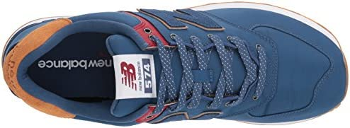 outlet store 8b21d d67cb New Balance Men's Ml574v2 Shoe,Blue,13 2E US: Amazon.com