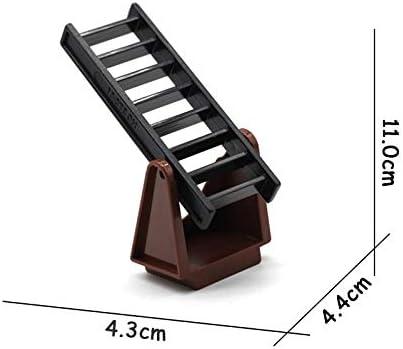 Escalera corredera para escalera, juego de ladrillos de grandes partículas, bloques de construcción, accesorios para niños, juguetes de regalo para bricolaje, compatible con escalera de deslizamiento roja Duplo: Amazon.es: Juguetes y juegos