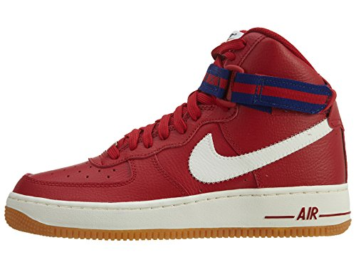 Nike Youth Air Force 1 High Jungen Basketballschuhe Gym Red / Sl-dp Königsblau