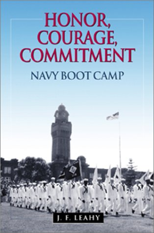 Honor Courage Commitment Navy Boot product image