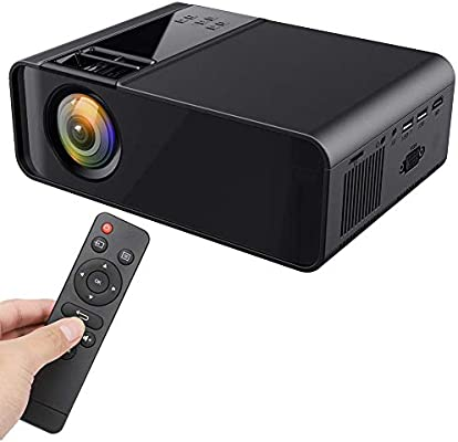 ASHATA Mini LED Projector, portátil 1080P HD 4K LED Home Theater ...