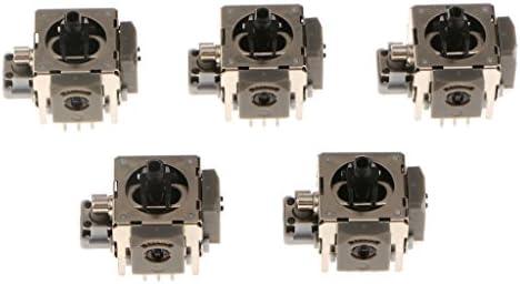 コントローラーアナログスティック Bタイプ 高品質 交換用 XBOX 360用 5個セット
