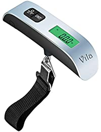 Luggage Scale for Travelers - Temperature Sensor, Battery Indicator, LCD display