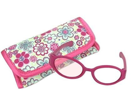 8aff7924aa92 Amazon.com  Sophia s 18 Inch Doll Pink Sunglasses   Case