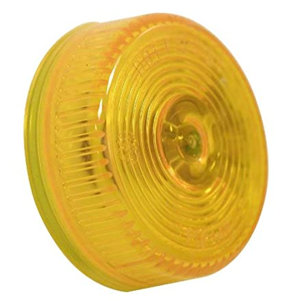 Peterson Manufacturing 146A Amber 2u0026quot; Round Clearance/Side Marker Light  sc 1 st  Amazon.com & Amazon.com: Peterson Manufacturing 146A Amber 2