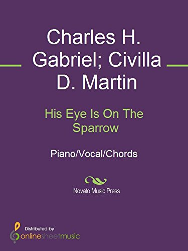 Books : His Eye Is On The Sparrow