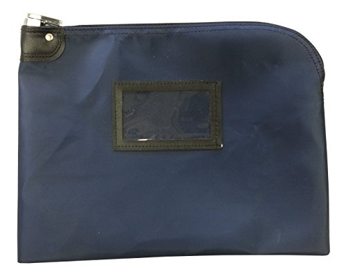 Locking Document Security HIPAA Bag 11 x 15 (Navy (Lock Bag)