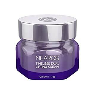 NEAROS Face Moisturizer Cream - Anti Aging and Plumping Face cream for Women and Men - Boost Collagen Level for Beautiful Skin (1.7oz/50ml)