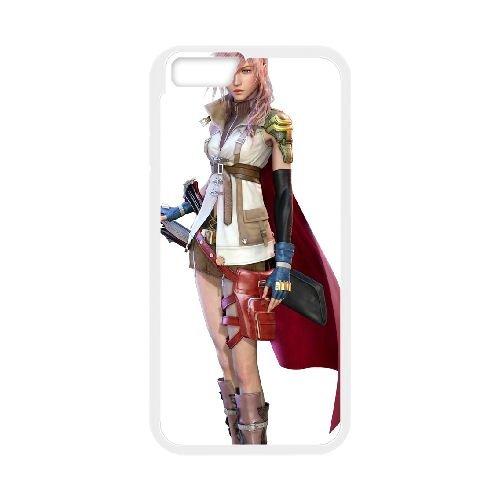 Eclair Farron Final Fantasy 007 coque iPhone 6 Plus 5.5 Inch Housse Blanc téléphone portable couverture de cas coque EOKXLLNCD17775