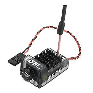 USAQ Spotter V1 5.8G Mini FPV Transmitter Camera 700TVL 20~200mW 40CH Whip Antenna