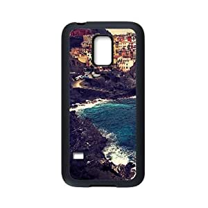 Samsung Galaxy S5 Mini Case,Beautiful Manarola High Definition Wonderful Design Cover With Hign Quality Rubber Plastic Protection Case