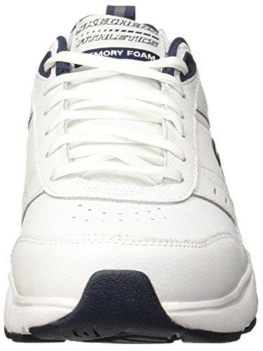 Skechers Heren Haniger Training Sneaker Wit / Navy