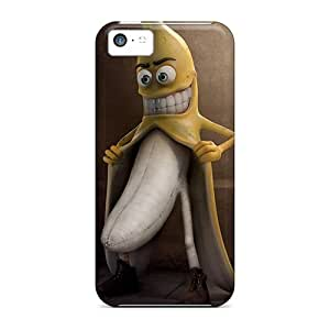 Hard Plastic Iphone 5c Case Back Cover,hot Banana Case At Perfect Diy by supermalls