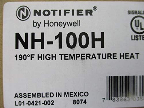 (Notifier NH-100H - Intelligent Addressable Thermal Detector Base)