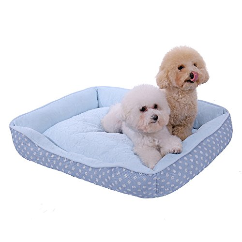 PAWZ Road Dog Bed,Pet Mat Cushion for Small Dogs and Cats-Snuggly Orthopedic Sleeper with More Filling on 3 Sides-Nonslip and Waterproof Bottom Supporting Better Sleep Cuddler For Sale