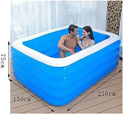 Soaking bath & Bañera para Adultos Familia de bañera Inflable ...