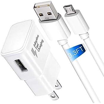 Amazon com: Adaptive Fast Charger, JULAM Micro USB Travel Wall