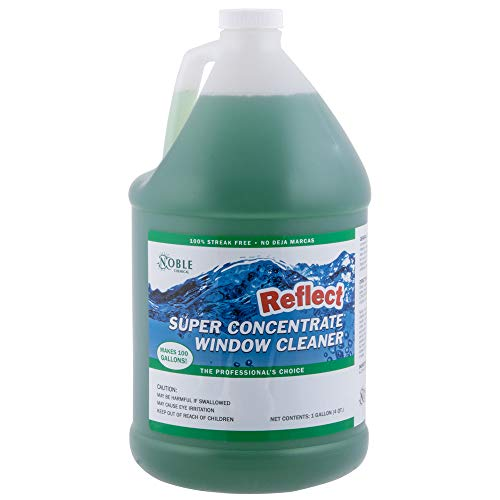 Noble Chemical 1 Gallon / 128 oz. Reflect Super Concentrate Window Cleaner