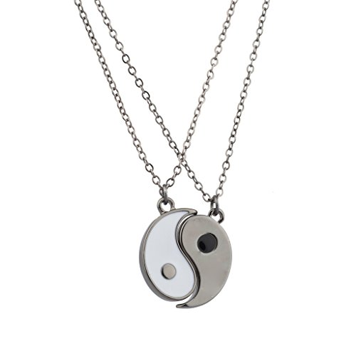 lux-accessories-gunmetal-white-yin-yang-peace-one-with-all-bff-best-friends-necklaces