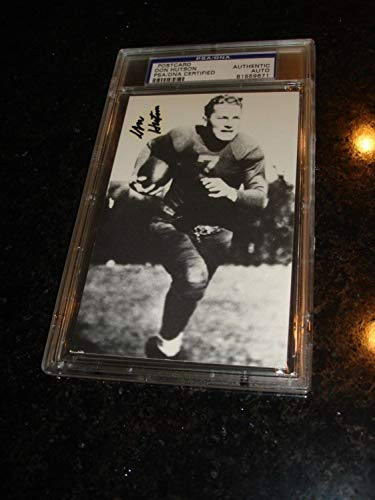 Don Hutson Autographed Signed Rga Postcard PSA/DNANFL Hof Packers from Sports Collectibles Online