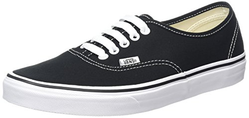 Van's Authentic Skate Shoes - Black Size 9.5 Mens, 11 Womens by Vans