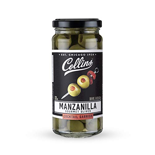 Collins 5oz. Manzanilla Martini Pimento Olives