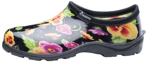 Pense Intrieure Avec Femmes 6 Imprim Taille Confort Semelle Sloggers Chaussures Et Pluie Violet Noir De 5114bp06 Jardin Pour fvqZ8f