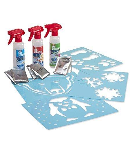 Paint Snow (Sno-Art Spray 'n' Stencil Set)