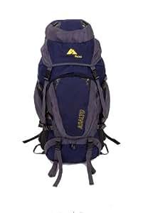 Guerrilla Packs 70L Asalto Internal Frame Hiking Camping Travel Backpack (Blue\Gray)