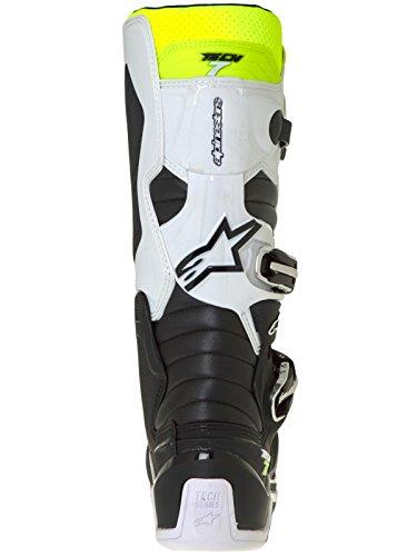 Alpinestars Motocross Støvler Tech 7 Hvid / Sort 7Fd0ZHNpSo