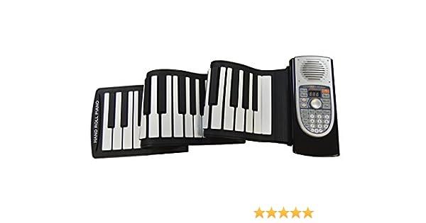 Piano electrónico enrollable, ELECITI piano profesional con ...